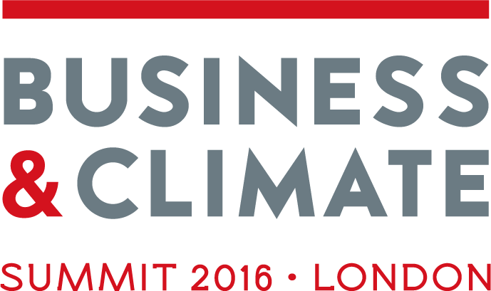 Business & climate summit 2016 - London